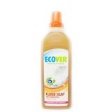 Жидкий концентрат с льняным маслом для мытья пола Ecover, 1 л