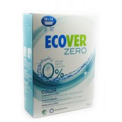 Экологический стиральный порошок-ультраконцентрат для цветного белья Ecover Color Zero, 750 гр.