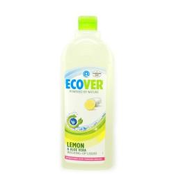 Жидкость для мытья посуды с лимоном и алое-вера Ecover, 1 литр