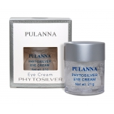 Крем для век с серебром, Pulanna