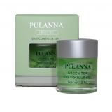 Тонизирующе-укрепляющий гель для век на основе зеленого чая, Pulanna