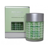 Увлажняющий защитный дневной крем на основе зеленого чая, Pulanna