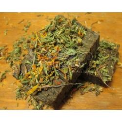 Мыло-скраб на травах, 100 гр