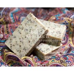 Мыло-скраб Серый Мрамор, 100 гр