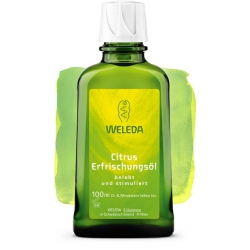 Цитрусовое освежающее масло для тела, 100 мл.