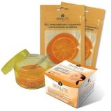Восстанавливающие подушечки с апельсиновым экстрактом 10 шт, Skinlite