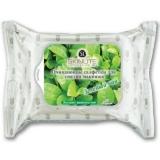Очищающие салфетки для снятия макияжа Зеленый чай, Skinlite